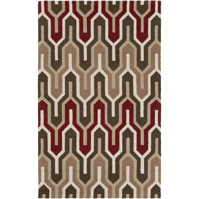 Zacharias Hand-Tufted Multi Area Rug Rug Size: Rectangle 5 x 8