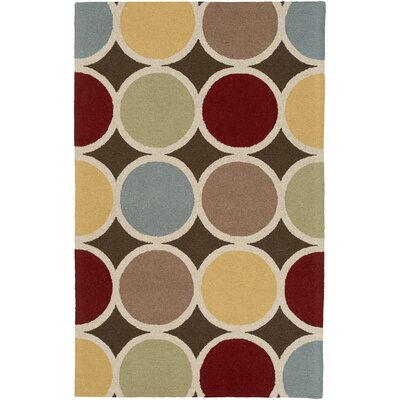 Impression Laura Hand-Tufted Multi Area Rug Rug Size: 9 x 13