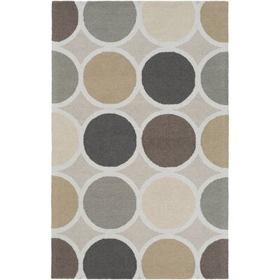Impression Laura Hand-Tufted Multi Area Rug Rug Size: 5 x 8