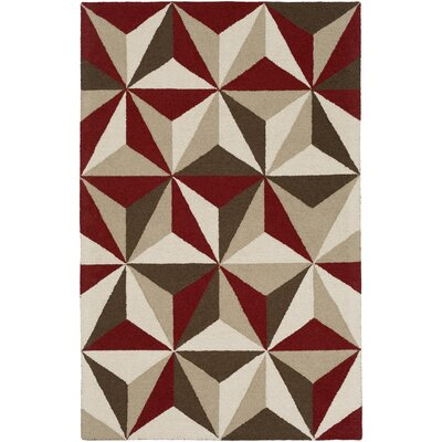 Impression Callie Hand-Tufted Multi Area Rug Rug Size: 9 x 13