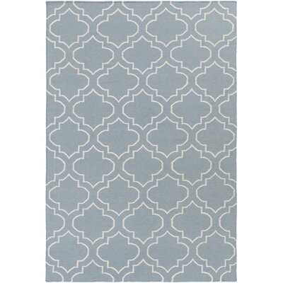 Aylesworth Blue Area Rug Rug Size: Rectangle 3 x 5