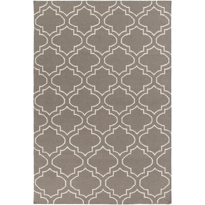 Aylesworth Gray Area Rug Rug Size: Rectangle 8 x 10
