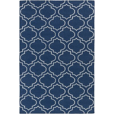 Aylesworth Blue Area Rug Rug Size: Rectangle 8 x 10