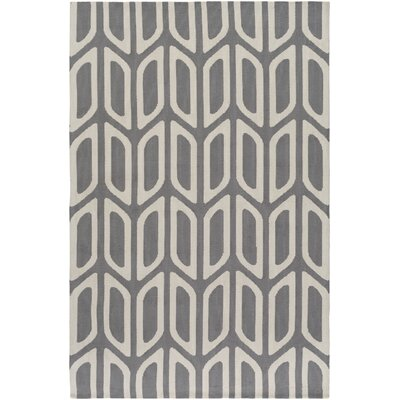 Blohm Gray Area Rug Rug Size: Rectangle 76 x 96