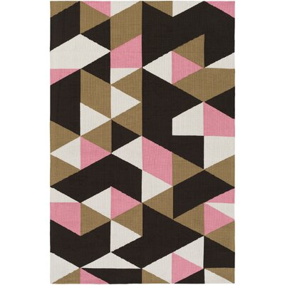 Block Handmade Multi Area Rug Rug Size: Rectangle 76 x 96