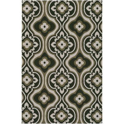 Mucci Olive Green Area Rug Rug Size: Rectangle 5 x 76