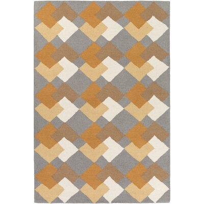 Hilda Celia Hand-Crafted Multi-Colored Area Rug Rug Size: 8 x 11