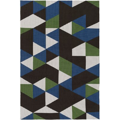 Block Hand Tufted Multi Area Rug Rug Size: Runner 23 x 10
