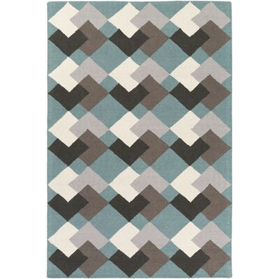 Younker Hand-Crafted Multi Area Rug Rug Size: Rectangle 5 x 76