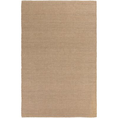 Yother Hand-Woven Beige Area Rug Rug Size: Rectangle 5 x 76