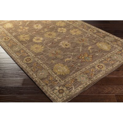 Middleton Brown Willow Area Rug Rug Size: 5 x 8
