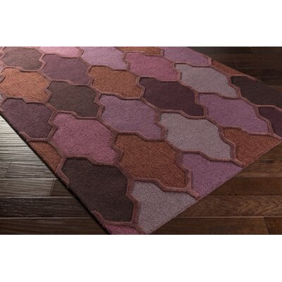 Galya Purple Area Rug Rug Size: Rectangle 5 x 76