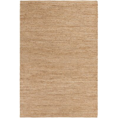 Zellers Hand-Woven Beige Area Rug Rug Size: Rectangle 5 x 76