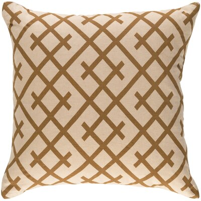 Juliano Pillow Cover Color: Beige/Camel