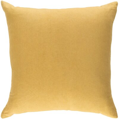 Ethiopia Cape Town Pillow Cover Color: Yellow