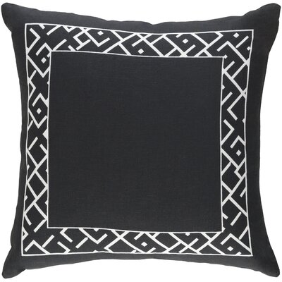 Ethiopia Rwanda Pillow Color: Black/White