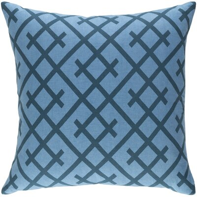 Ethiopia Kenya Pillow Cover Color: Denim/Slate