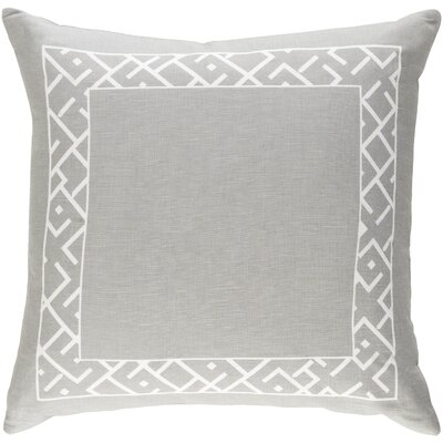 Ethiopia Rwanda Pillow Color: Gray/White