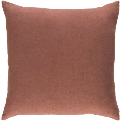 Ethiopia Cape Town Pillow Cover Color: Rust