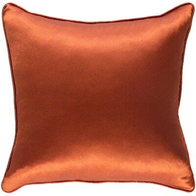 Lanigan Pillow Cover Color: Orange