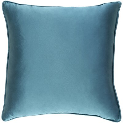 Lanigan Pillow Cover Color: Turquoise Blue