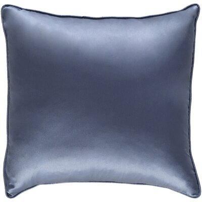 Lanigan Pillow Cover Color: Navy Blue