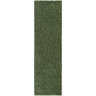 Daub Green Area Rug Rug Size: Runner 23 x 8