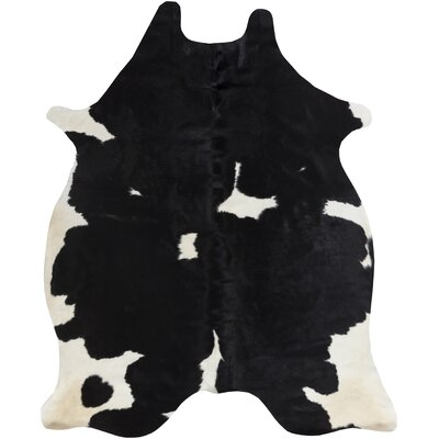 Pires Hand-Tufted Black/White Area Rug