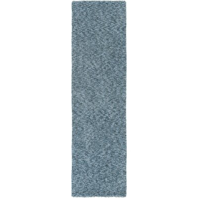 Daub Navy/Light Blue Area Rug Rug Size: Runner 23 x 8