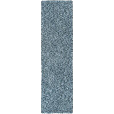 Daub Navy/Light Blue Area Rug Rug Size: Runner 23 x 8