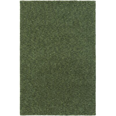 Sally Maise Green Area Rug Rug Size: 76 x 96