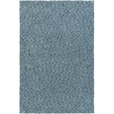 Sally Maise Navy/Light Blue Area Rug Rug Size: 76 x 96