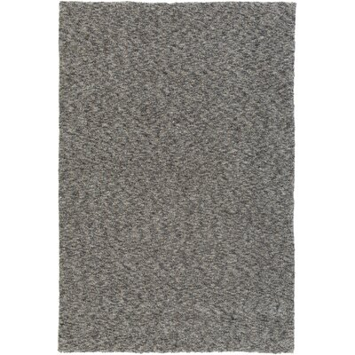 Daub Gray/Light Gray Area Rug Rug Size: Rectangle 76 x 96