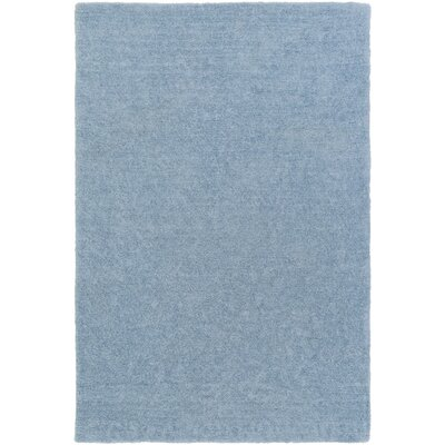Eckman Light Blue Area Rug Rug Size: Rectangle 5 x 76