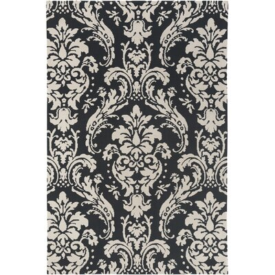 Lade Black/Beige Area Rug Rug Size: Rectangle 76 x 96