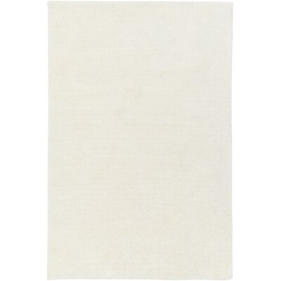 Eckman Ivory Area Rug Rug Size: Rectangle 76 x 96