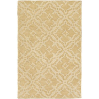 Dutchess Handmade Cream Area Rug Rug Size: Rectangle 4 x 6