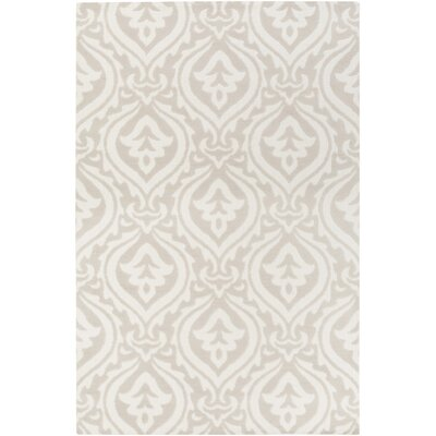 Lachapelle Ivory/Beige Area Rug Rug Size: Rectangle 5 x 76