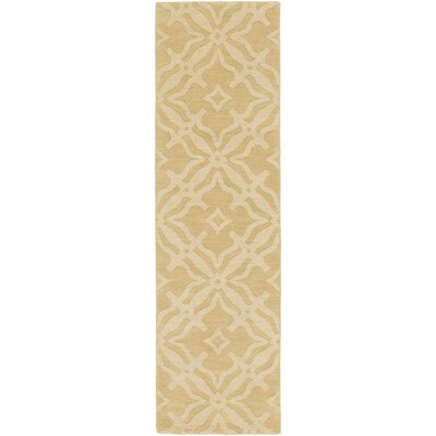Dutchess Handmade Cream Area Rug Rug Size: Runner 23 x 12