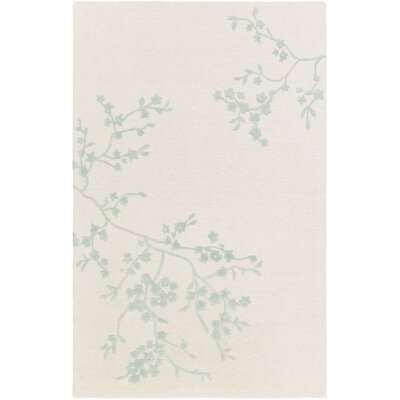 Alexander Smith Hand-Tufted Light Pink/Gray Area Rug Rug Size: 5 x 8