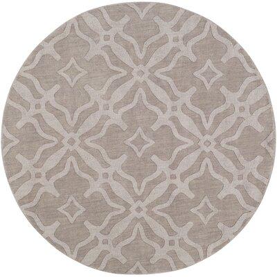 Dutchess Handmade Gray Area Rug Rug Size: Round 99