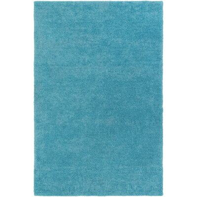 Eckman Turquoise Area Rug Rug Size: Rectangle 76 x 96