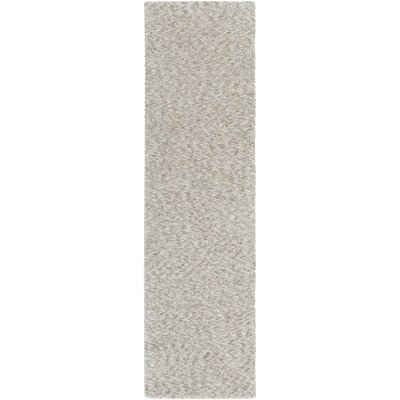 Daub Gray/Light Gray Area Rug Rug Size: Runner 23 x 8