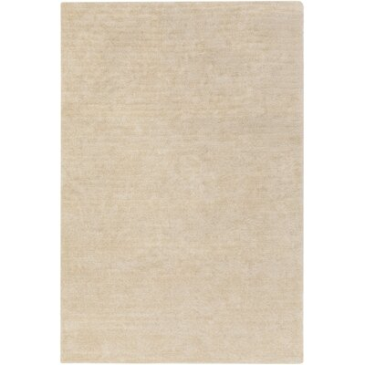 Eckman Beige Area Rug Rug Size: Rectangle 76 x 96