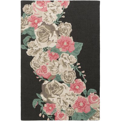 Lacoste Hand-Tufted Pink Area Rug Rug Size: Rectangle 4 x 6