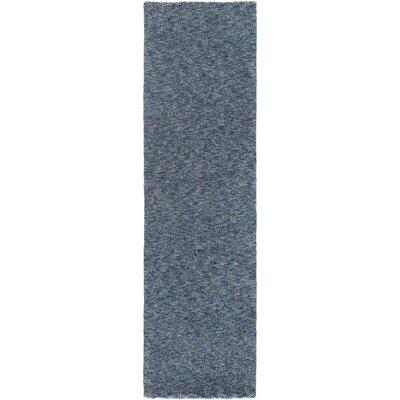 Daub Blue/Navy Area Rug Rug Size: Runner 23 x 8