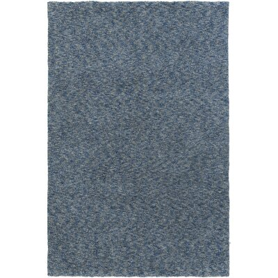 Daub Blue/Navy Area Rug Rug Size: Rectangle 3 x 5