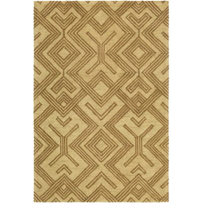 Litwin Hand-Tufted Taupe/Beige Area Rug Rug Size: Rectangle 5 x 76