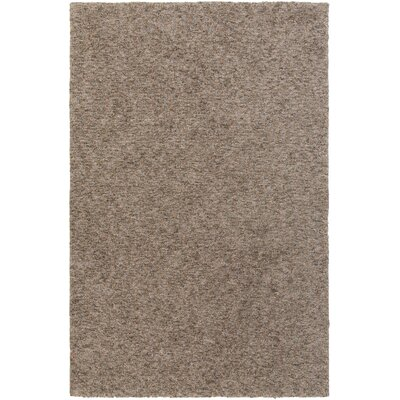 Daub Brown Area Rug Rug Size: Rectangle 4 x 6