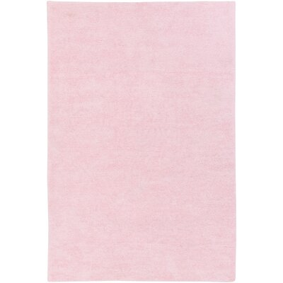 Eckman Light Pink Area Rug Rug Size: Rectangle 76 x 96